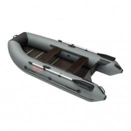 Надувная 3-местная ПВХ лодка Посейдон Смарт SMK-330 LE